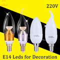 1 шт. Новый Год E14 Светодиодные Свечи Лампы Энергосберегающие Лампы Свет лампы Velas Сид Decorativas Лампы Светодиодные Лампы E14 220 В 3 Вт 5 Вт Ампуле led лампы светодиодные