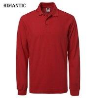 Brand New Polo Hombre Shirt Men Fashion Collar Shirts Long Sleeve Casual Camisetas Masculinas Plus Size
