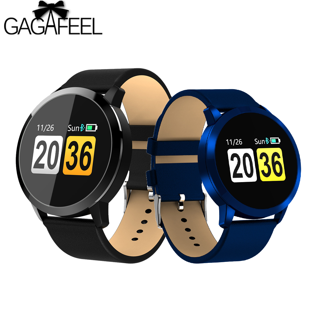 gagafeel q8 touch screen smartwatch heart rate smart watch. Black Bedroom Furniture Sets. Home Design Ideas