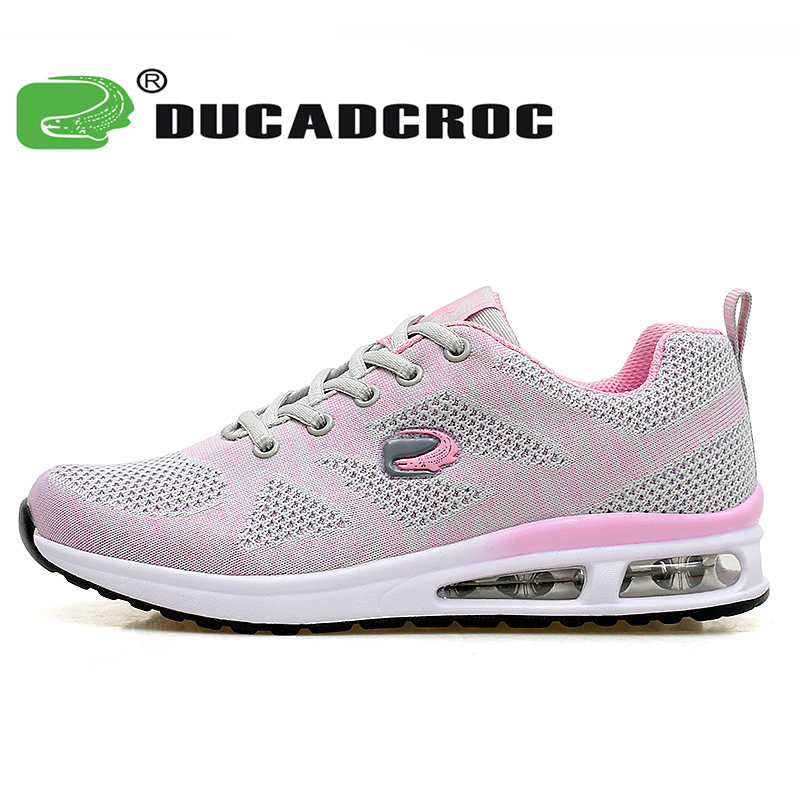 Women's Breathable Running Shoes Cushioning women sneakers outdoor sport walking shoes zapatillas deportivas mujer цены онлайн