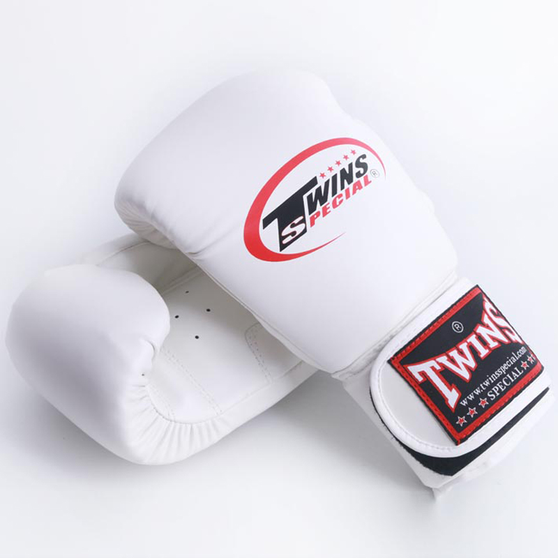 8OZ 10OZ 12OZ 14OZMen Women Kids Boxing Twins Kick Gloves PU Leather Karate MMA Muay Thai a pair F
