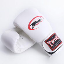 8OZ 10OZ 12OZ 14OZMen Women Kids Boxing Twins Kick Boxing Gloves PU Leather Karate MMA Gloves Boxing Gloves Muay Thai a pair F
