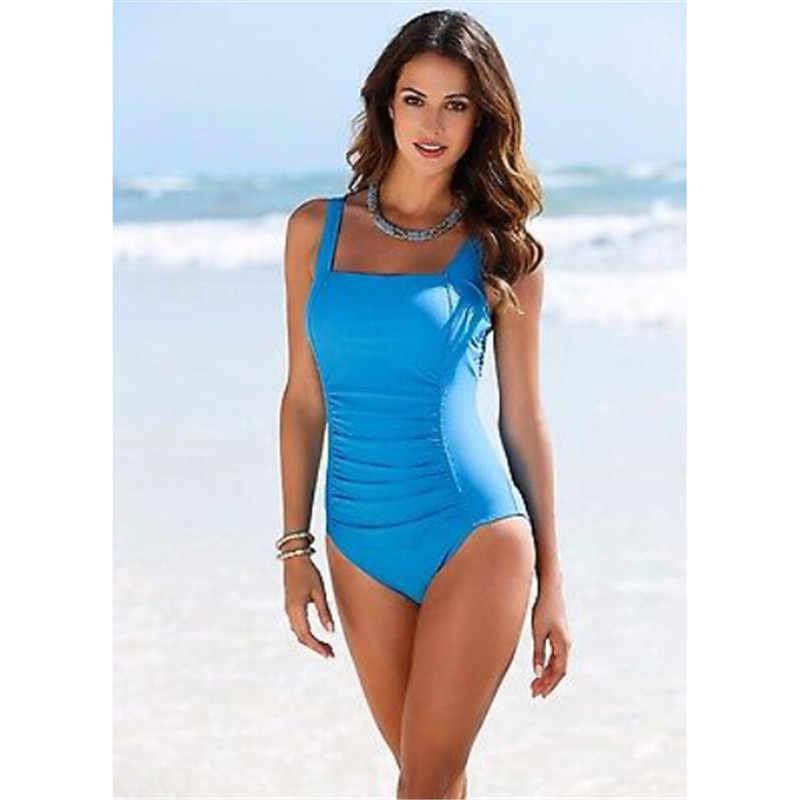 1eb95c77dc900 2017 New One Piece Swimsuit Brazilian Bikini Set Hot Beachwear Plus Size  Swimwear Women Bikinis Black Bathing Suit Trikini XXXXL