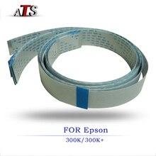 цены 5pcs head cable scan line for Espon LQ 300 300K+II 305K compatible Printer spare parts LQ300 LQ300K LQ300K+II LQ305K