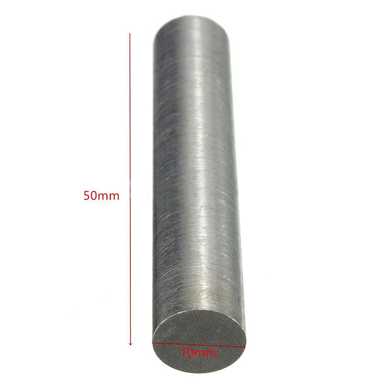 1pc High Purity Tungsten Metal Rod Round Bar 10mm X 50mm Mayitr For Power Tool