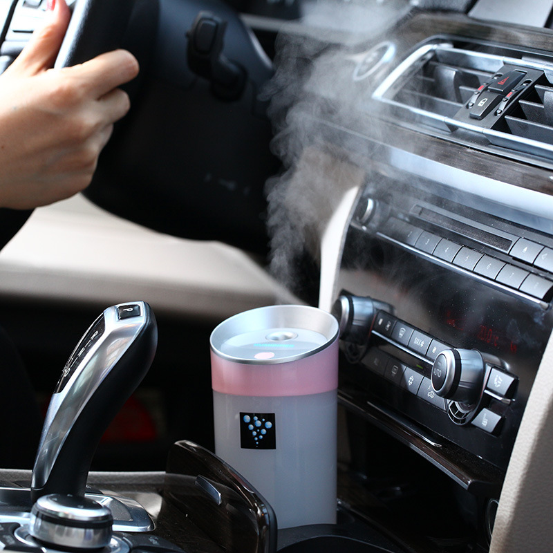 kebidumei 300ML Car Ultrasonic Humidifier USB Aroma Essential Oil Diffuser Aromatherapy air Aroma diffuser mist maker