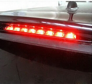 Third Brake Light For Bmw Mini R53 Clear Lens Brilliant Red 8led High Mount 3rd 02 06 Cooper R50 In Signal Lamp From
