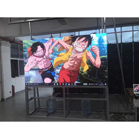 Small pixel pitch indoor P3.91mm 500x500mm Die Casting Aluminum Cabinet led display video panel rental for meeting room concert