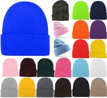 Модные вязаные шапки унисекс mistdawn 2020 женские облегающие