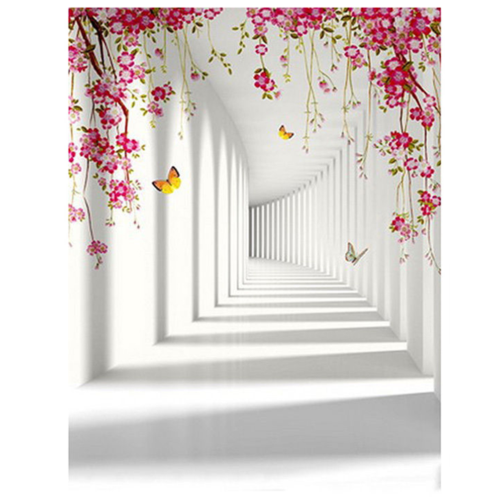 5x7FT White Backdrop Board Photo Background Photography White Studio Cloth Flower Rattan Corridor 5x7ft white backdrop board photo background photography white studio cloth flower rattan corridor