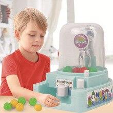 Мини-машина для ловля мяча, игрушки, яркие заколки, интерактивное руководство, обучающие игрушки для детей, Электрический кран для конфет, настольные игрушки