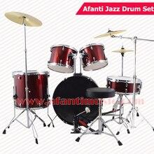 5 Drums 3 Crash Cymbals / Purple color / Afanti Music Jazz Drum Set / Drum kit (AJDS-434)