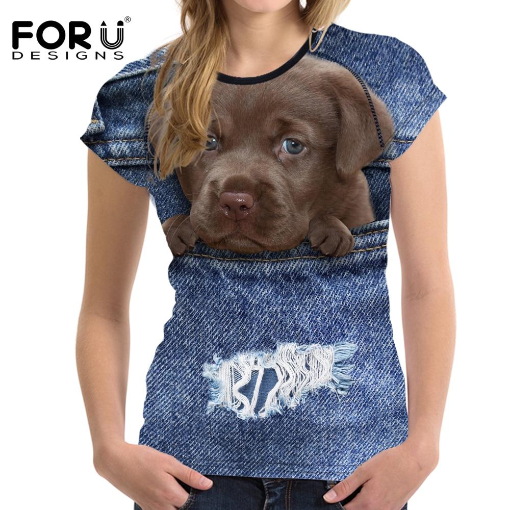 ΑΝΤΙΠΡΟΣΩΠΕΥΣΕΙΣ Denim 3D Pomeranian σκυλιών - Γυναικείος ρουχισμός - Φωτογραφία 4