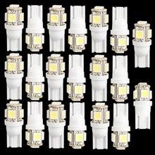 TOYL 20 Stk. T10 194 168 W5W 5 5050 SMD LED Birne Xenon Wei Auto Rcklicht