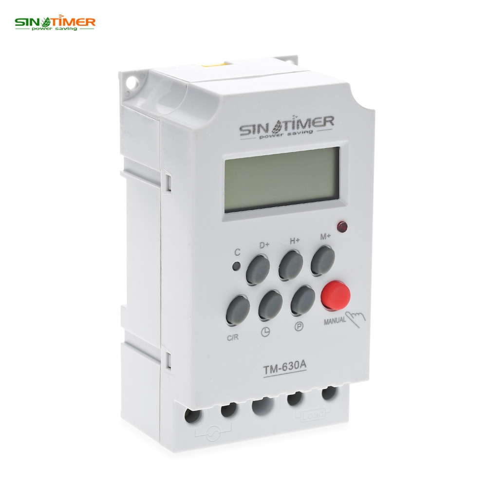 SINOTIMER 12V AC/DC Control Power Timer 50 Hz 24 Hours Timer Switch Control High Quality Time Relay Electronic Instrument dc 12v led display digital delay timer control switch module plc automation new
