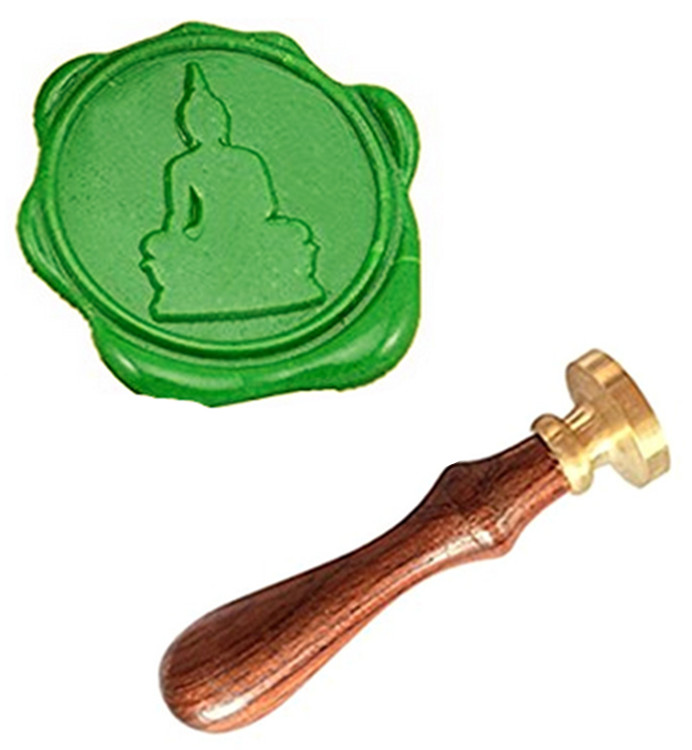MDLG Buddha Vintage Custom Picture Logo Luxury Wax Seal Sealing Stamp buddha volume 1