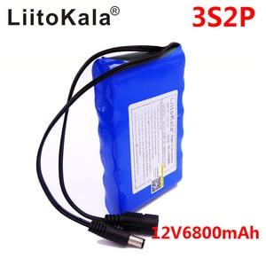 Image 4 - Liitokala Batería de iones de litio portátil, Super recargable, capacidad DC 12V 6800Mah, Monitor de cámara CCTV