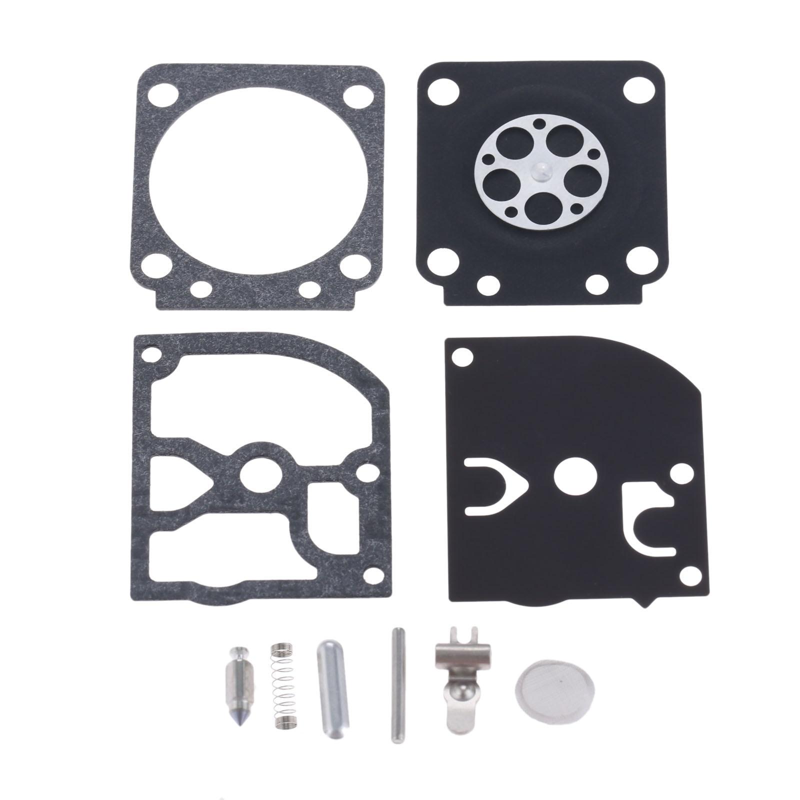 DRELD RB-129 Carburetor Carb Repair Rebuild Kit Fit For ZAMA RB-129 C1M-W26 A-C SERIES CARBS TRIMMER CHAINSAWS PARTS Engine