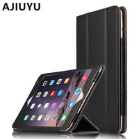 AJIUYU Genuine Leather Case Cowhide For IPad Pro 12 9 Inch Protective Smart Cover Tablet For