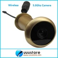 Endoscope 5.8g 5.8ghz Wireless Fpv Camera (pure Brass Material;13.8mm Diameter;90 Degree Voa;0.008lux;720x480pix;100m Range)