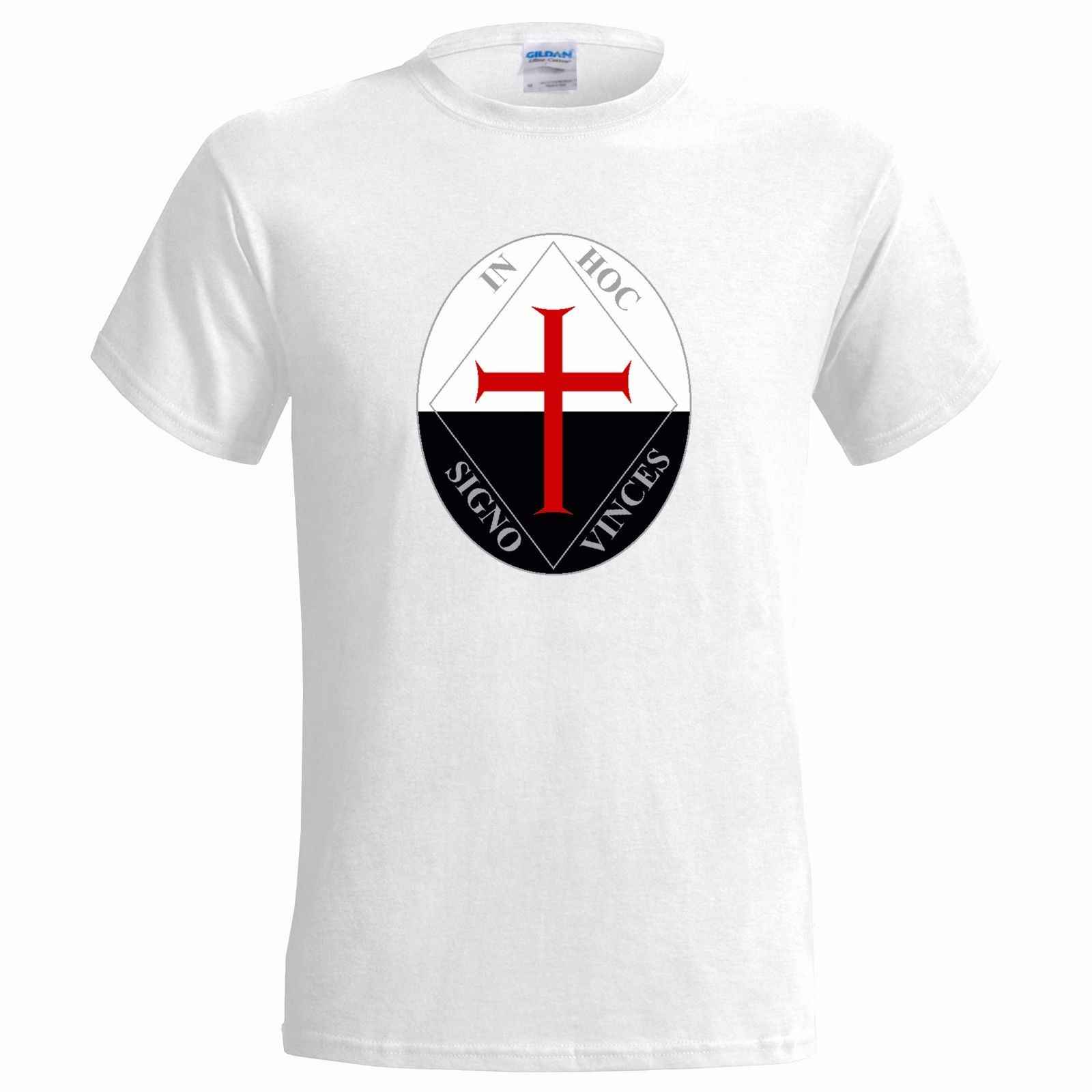CARNIVALE SYMBOL MENS T SHIRT KNIGHTS TEMPLAR ILLUMINATI FREE MASON FREEMASON  Cool Casual pride t shirt men Unisex New Fashion