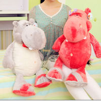 Fancytrader 1 pc 31'' / 80cm Lovely Giant Stuffed Soft Plush Cute Hippo Toy, 2 Colors Available, Free Shipping FT50629