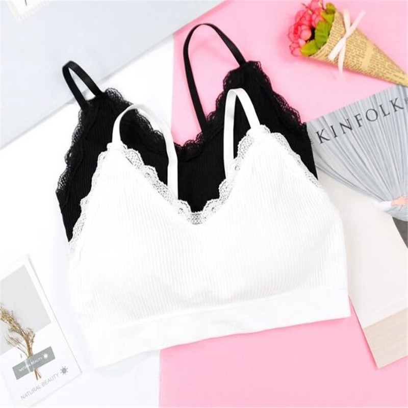Summer Cool Breathable Sports Bra Woman 7 Color Solid Lace Push Up Seamless Sport Top Soft Thin Yoga Fitness Brassiere in Sports Bras from Sports Entertainment