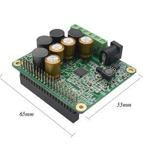 Image 2 - Lusya Raspberry Pi Versterker Hifi Uitbreidingskaart 25W Met Aux Compatibel Raspberry Pi 3 Model B, 2B, B + A4 015