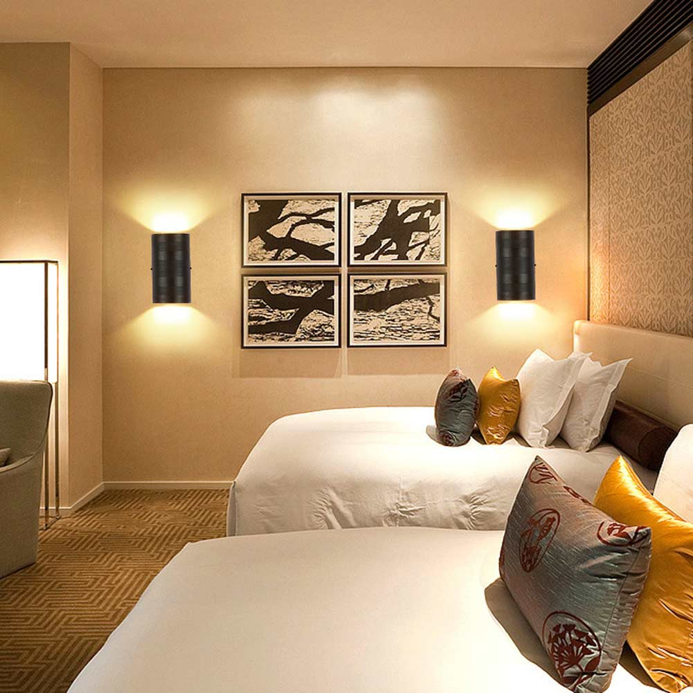 6 Watt LED Aluminium Wasserdichte Esszimmer Licht Nacht Korridor Wandleuchte