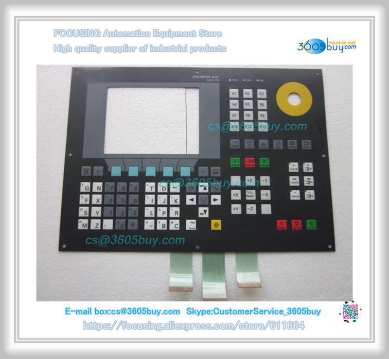 6FC5500-0AA00-1AA0 Membrane Keypad New new membrane keypad for beijer e150 repair new 100