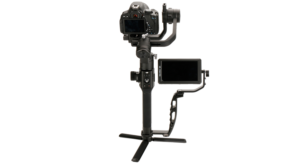 Gimbal Accessories L Bracket Stand Handle Grip with Hot Shoe 1/4'' Screw for Zhiyun Crane 2 DJI Ronin S Weebill LAB Stabilizer 13