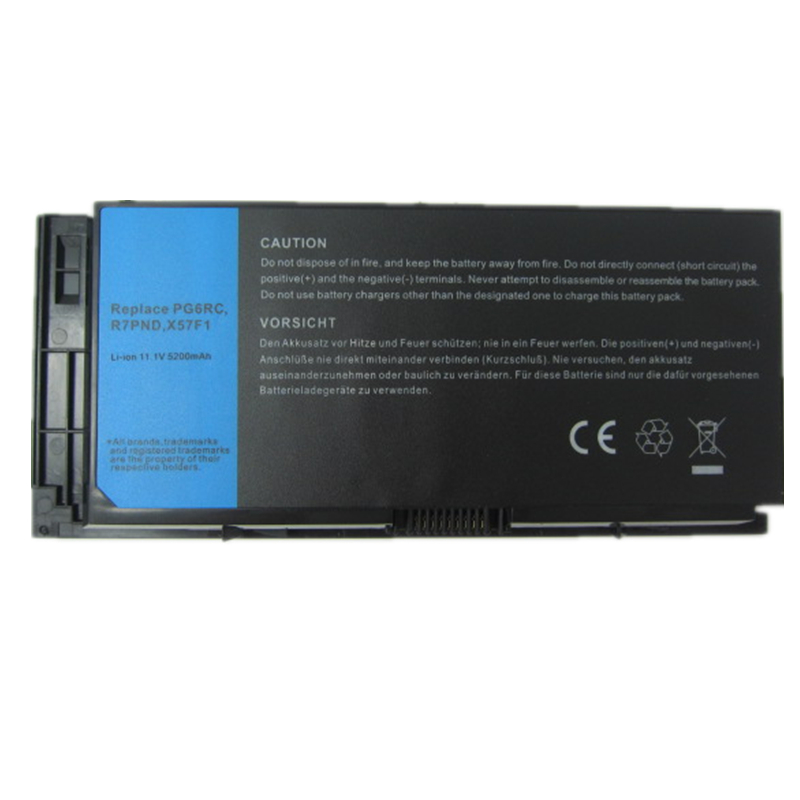 HSW 6cells new quality Battery for Dell Precision M4600 M6600 Series 0TN1K5 FV993 PG6RC R7PND DP/N0TN1K5 bateria accu