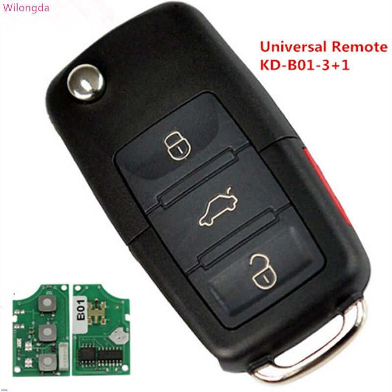HXLIWLQLUCKY télécommande universelle KD-B01-3 + 1 pour KD900/KD900 +/URG200 programmeur clé série B télécommande livraison gratuite