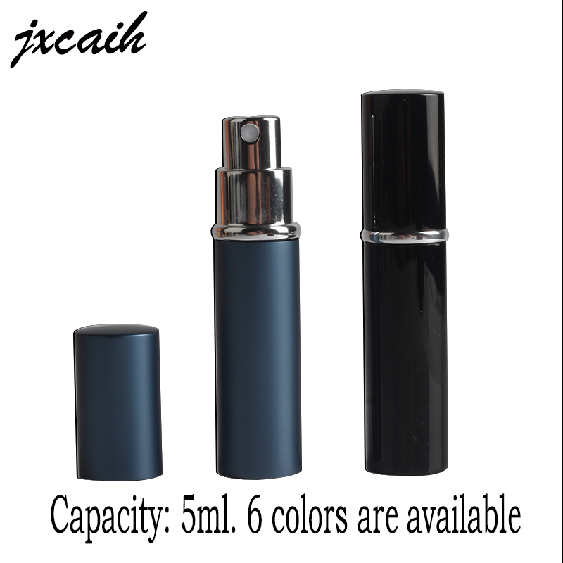 цена jxcaih Hot Sale Mini Portable For Travel Aluminum Refillable Perfume Bottle With Spray&Empty Cosmetic Containers With Atomizer