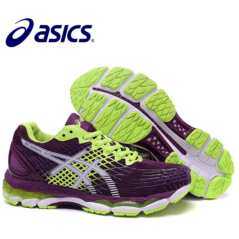 ASICS GEL-KAYANO 17 Women Shoes Stability Outdoor Running Shoes ASICS Sports Shoes Sneakers Outdoor Athletic Shoes цены