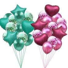 14 шт. 12/18 дюймов шампанское золото Воздушные шары на день рождения вечерние украшения детей гелия balloonwedding фестиваль балон вечерние поставки