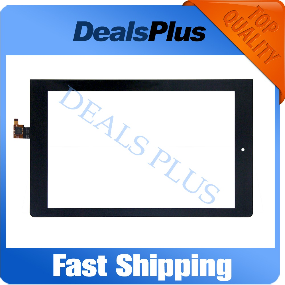 Replacement New Tablet Touch Screen Digitizer Glass For Lenovo Yoga Tablet 10 <font><b>B8000</b></font> <font><b>B8000</b></font>-H 10.1-inch Black image