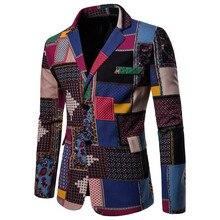 Африканский мужской костюм куртка хлопок dahiji цветок костюм куртка многоцветные варианты