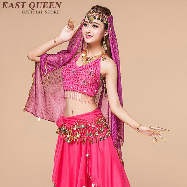 Belly dance costume set indian oriental dance costumes women belly dancing outfits stage dance wear bellydance costume NN0854
