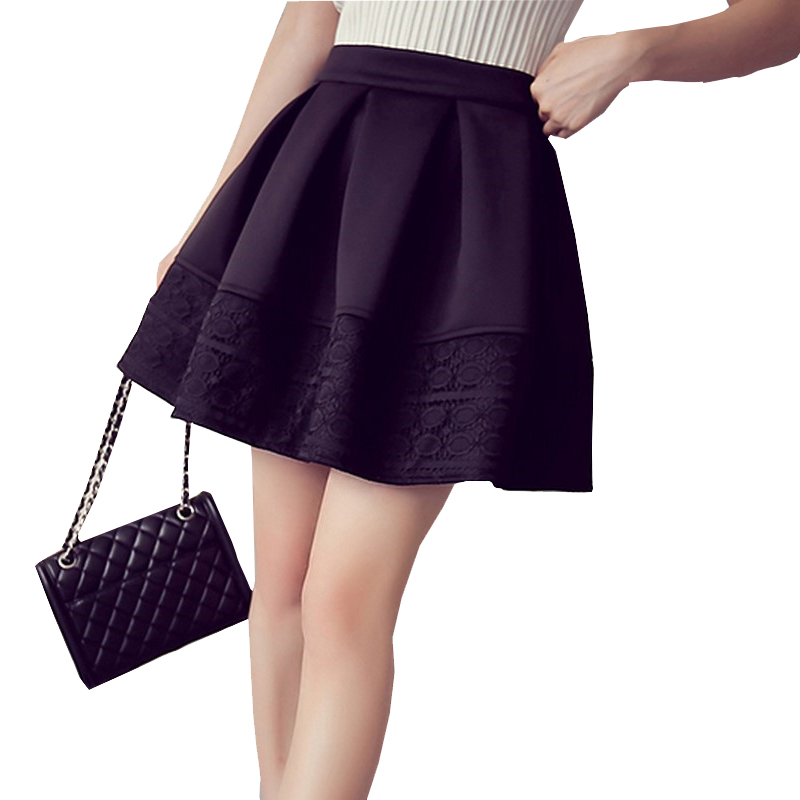 Online Get Cheap Short Black Pleated Skirt -Aliexpress.com ...