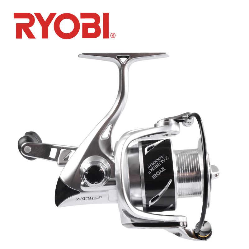 18 moulinet de pêche RYOBI ZAUBER II Original 8 + 1 roulements 5.0: 1/5. 1:1 rapport de vitesse poignée puissance 1000 2000 3000 4000 corps en métal