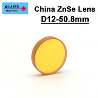 China ZnSe Co2 Laser Focus Lens 12mm Diameter FL38 1mm 1 5inches For CO2 Laser Engraving