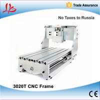 DIY Mini Cnc Router Frame 3020T CNC Machinery Parts With Trapezoidal Screw
