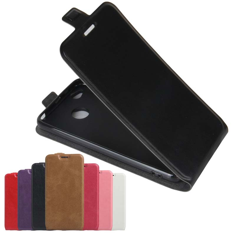 YINGHUI Magnetic Flip Leather Phone Case For Xiaomi Redmi 4X Light Weight Ultra Thin Cover Case For Xiaomi Redmi-4X Holster Bag