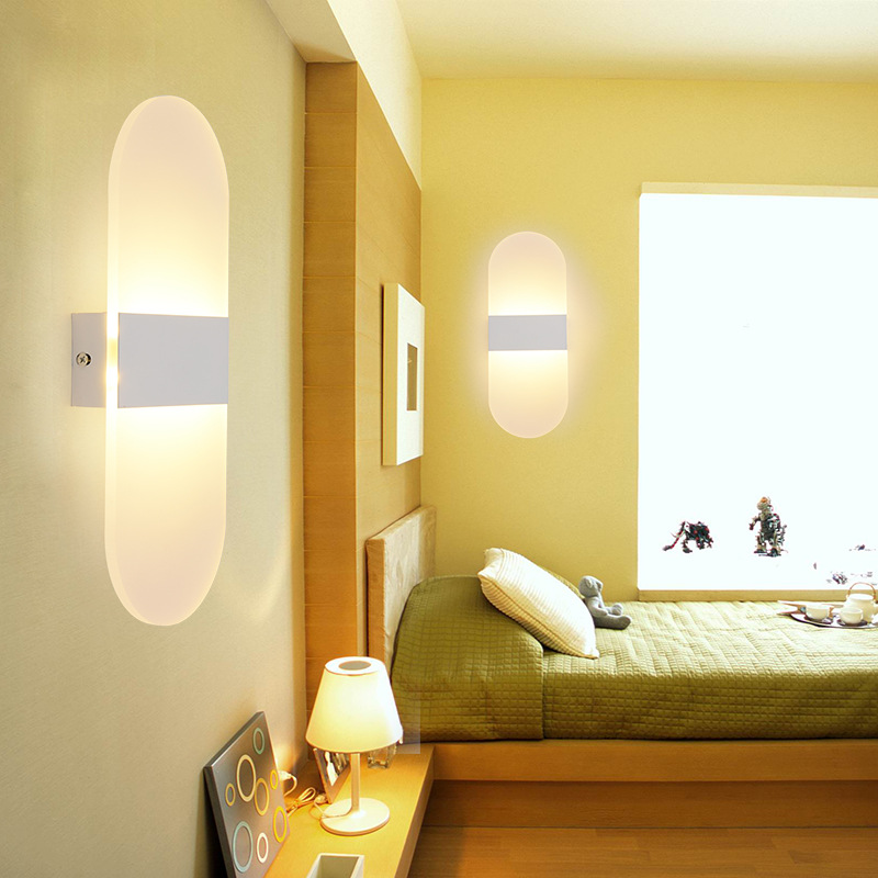 Modern Led Bedroom Wall Lamps Fixture Decorative Lamps
