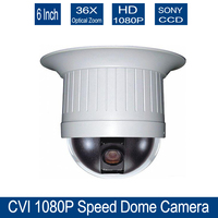 Home 7 Inch MINI PTZ 1 3 Megapixel 960P Dahua CVI PTZ High Speed Dome Camera