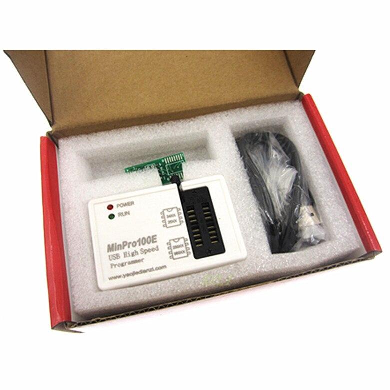 Nouveau programmeur BIOS MinPro100E 100B en FLASH SPI 24/25/95 graveur mémoire USB en lecture et écriture
