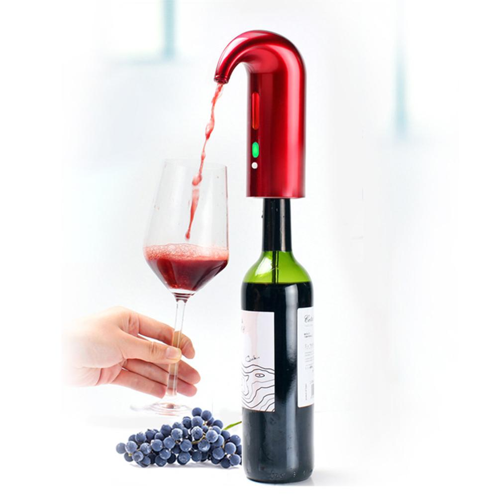 Nouveau 1 Set électronique décanteur Intelligent rapide oxygénant vin électronique décanteur bouchons de vin verseurs Bar vin outils