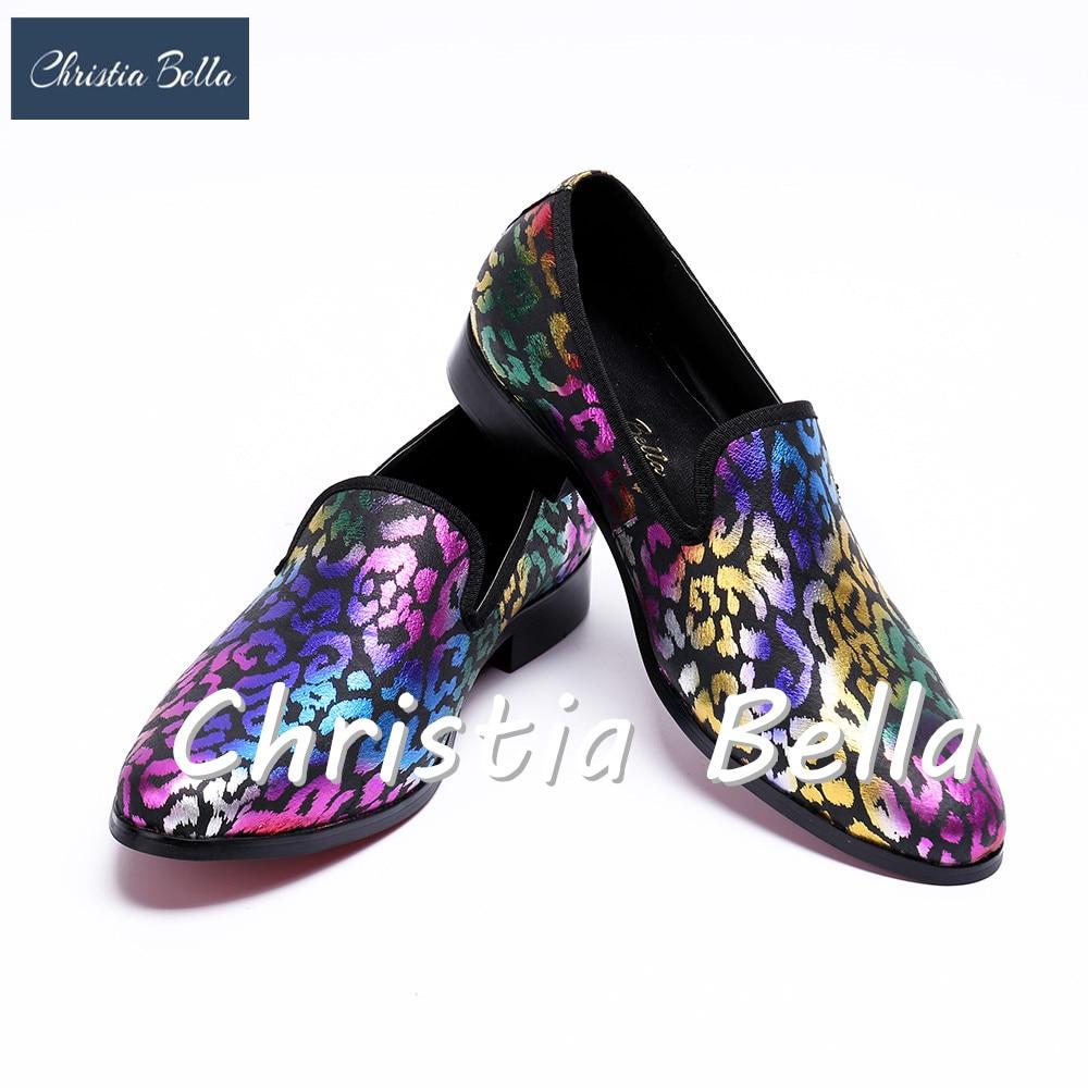 купить Christia Bella New Men's Fashion Italian Luxury Men Loafers Casual Genuine Leather Men Flats Designer Shoes Plus Size 38-47 по цене 6731.75 рублей