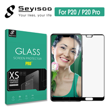 Original Seyisoo Premium 2.5D 0.3mm 9H Full Cover Screen Protector Tempered Glass For Huawei P20 Huawei P 20 Pro Protective Film